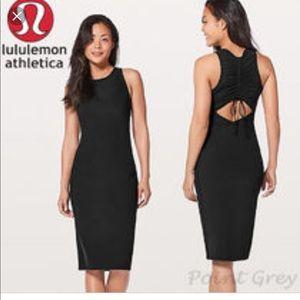 NWT Lululemon Rather Be Gathered Dress 8 HTF
